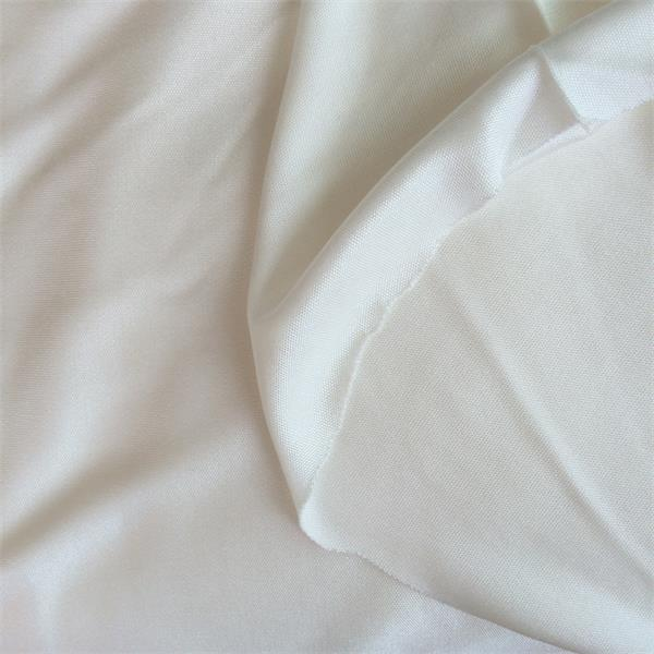 knitted interlock double sided jersey silk fabric