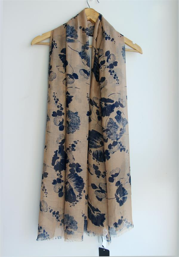 modal printed long stole