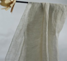 nature linen stole solid shade