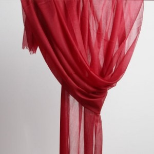 real cashmere stole very thin in solid color