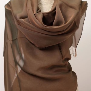 shot silk chiffon scarf wraps