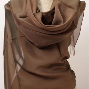 shot silk chiffon scarf wraps
