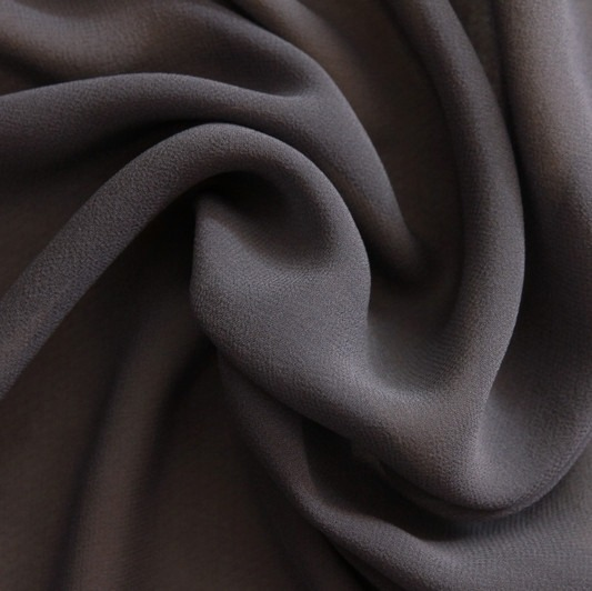 silk georgette black shade