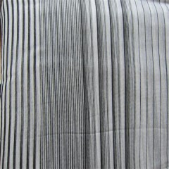 yarn dye striped silk chiffon fabric