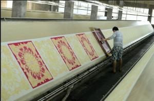 slope plate silk screen printing
