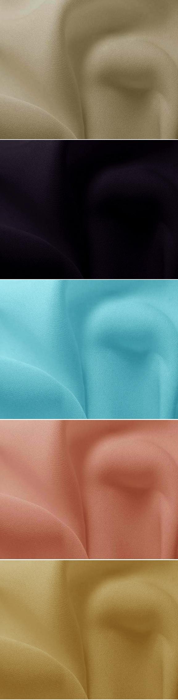 19mm elastic silk double ggt crepe