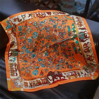 55×55cm small silk scarf