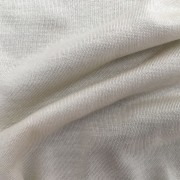 Ivory Knitted Single Silk Jersey Fabric
