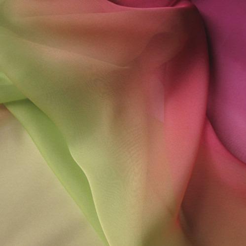 gradient silk fabric chiffon (1)
