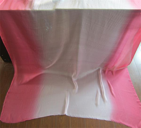 gradient silk fabric chiffon (3)