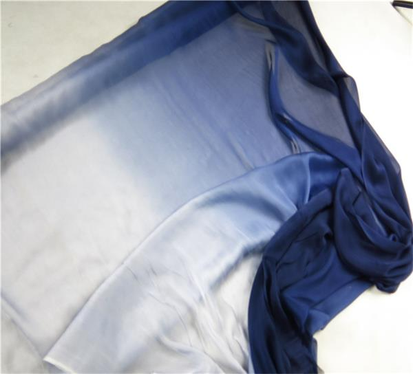 gradient silk fabric chiffon (6)