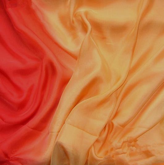 gradient silk fabric chiffon (7)