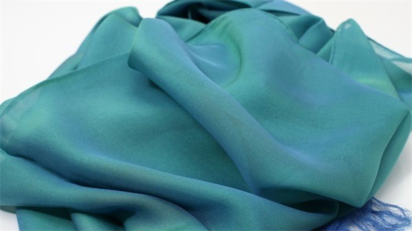 iridescent silk chiffon fabric (3)