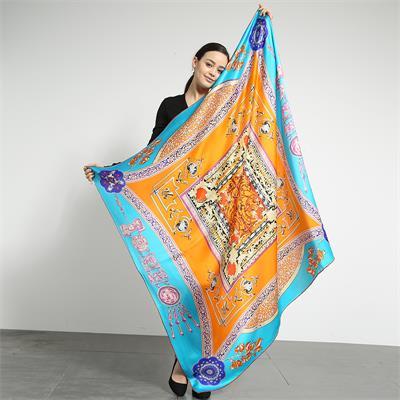 large square silk scarves 140×140cm