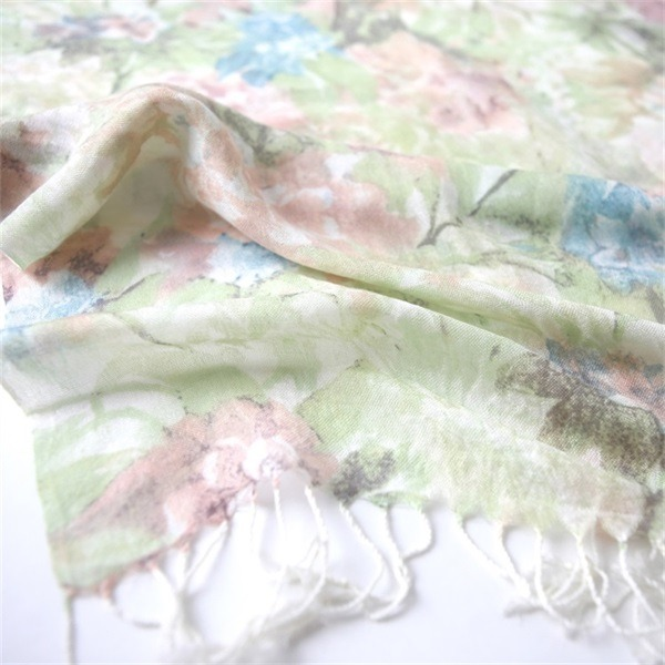 Custom Printed Scarves 100 Acrylic for Women (2)