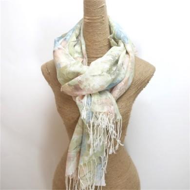 Custom Printed Scarves 100 Acrylic for Women (3)