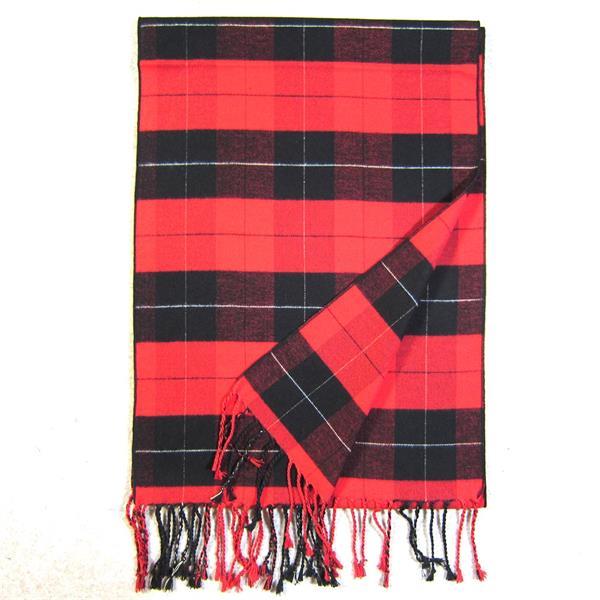 Mens Tartan Silk Comforter (3)