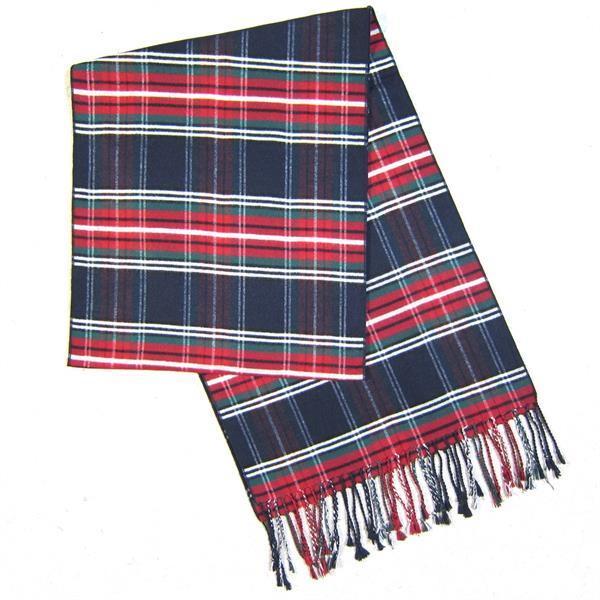 Mens Tartan Silk Comforter (4)