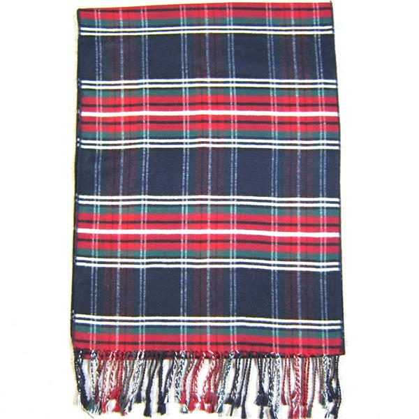 Mens Tartan Silk Comforter (5)