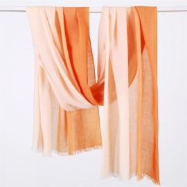 Ombre Long Winter Wool Long Scarf (2)