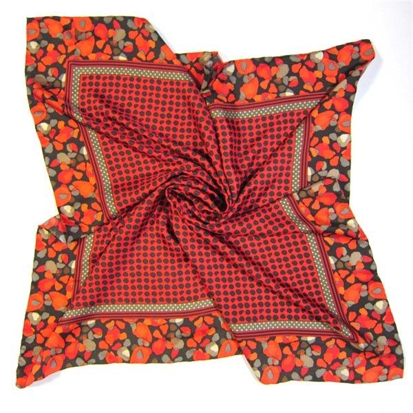 Red Luxury Designer Silk Scarves (1) - 副本