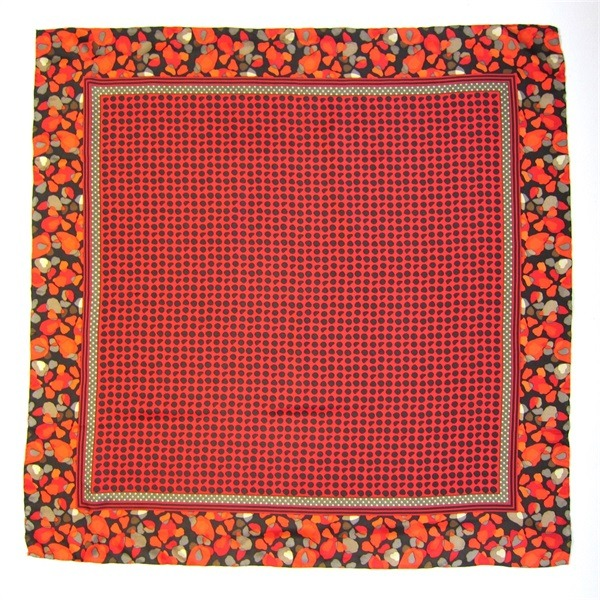 Red Luxury Designer Silk Scarves (2) - 副本