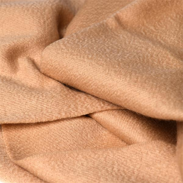 Solid Dyed Wool Cashmere Scarf Comforter for Women (1)