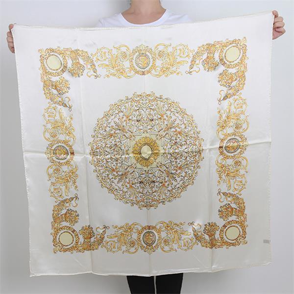 Traditional 90 Turkish Silk Scarves (1)