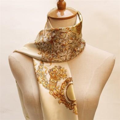 Traditional 90 Turkish Silk Scarves (2)