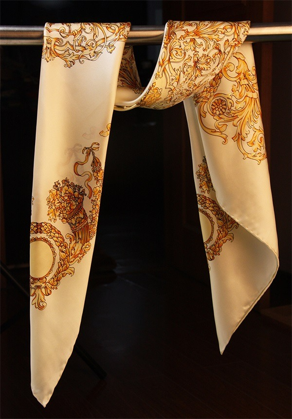Traditional 90 Turkish Silk Scarves (3)