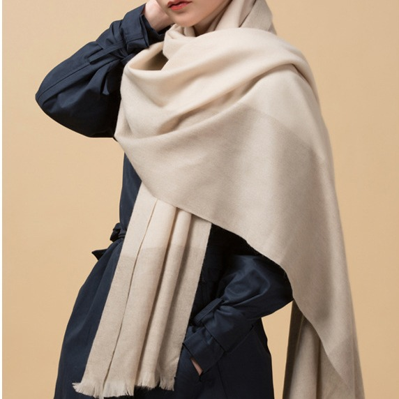 Wholesale Ladies Winter 100 Wool Scarf (1)