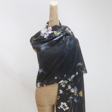 arab muslim hijab silk crepe scarf (2)