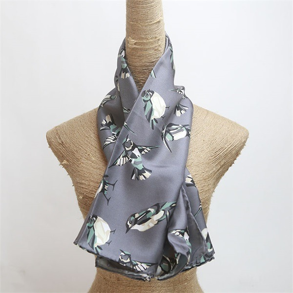 bird print silk scarves and shawls (1)