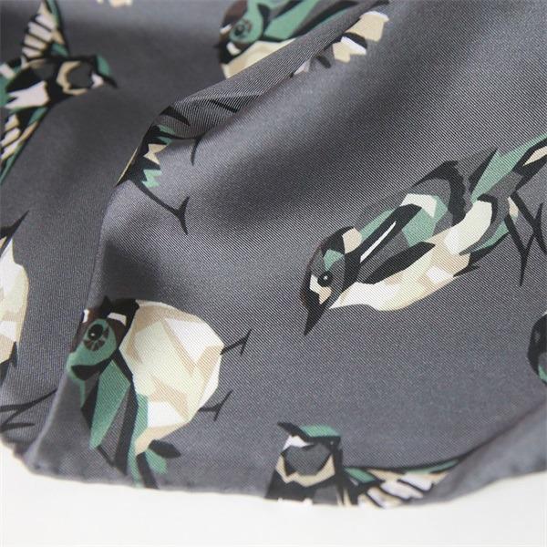 bird print silk scarves and shawls (2)