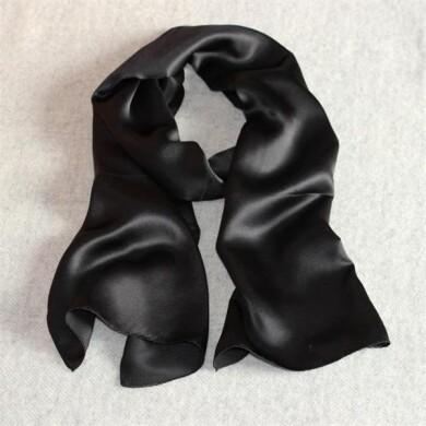 black solid silk scarves.jpg