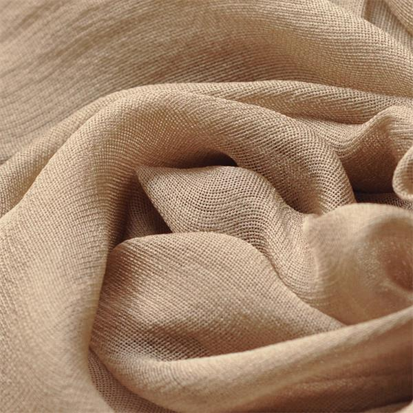 camel new sheer silk gauze scarf (3)