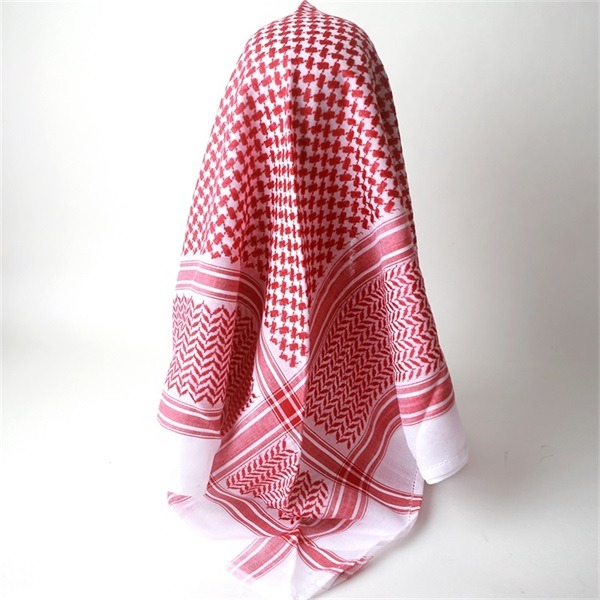 cotton shemagh keffiyeh scarf (3)