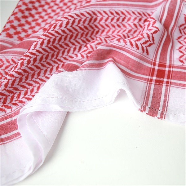 cotton shemagh keffiyeh scarf (4)