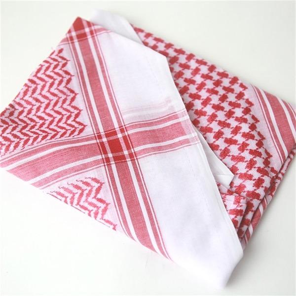 cotton shemagh keffiyeh scarf (5)