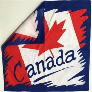 Custom Printed Cotton Country Flag Bandanas
