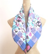 Custom Printed Silk Scarves Digital Printed