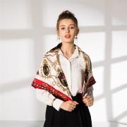 elegant silk scarf hand rolled (2)