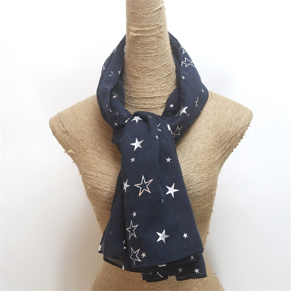 foil print scarf from scarf wholesalers (2)