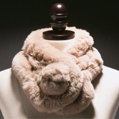 genuine rabbit fur scarf (1)