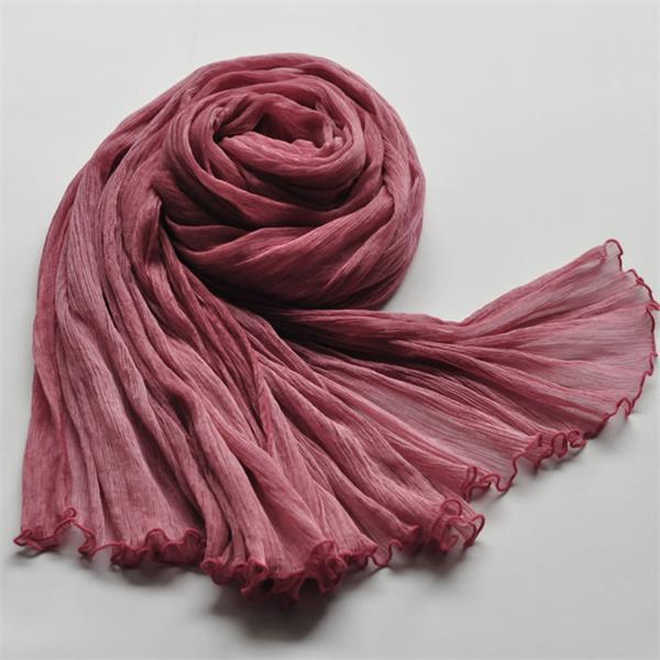 girls fashion silk georgette scarf (1)