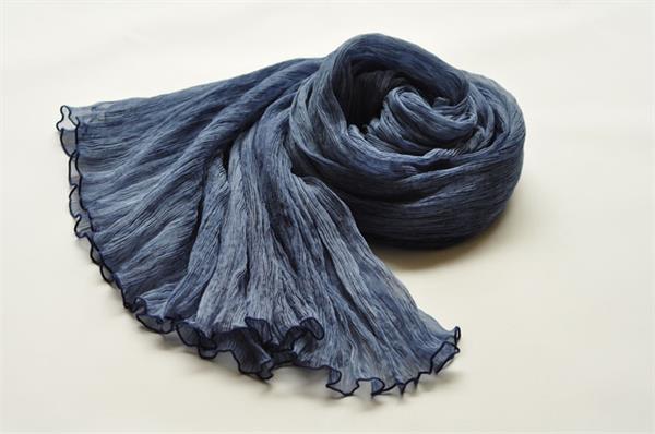 girls fashion silk georgette scarf (2)