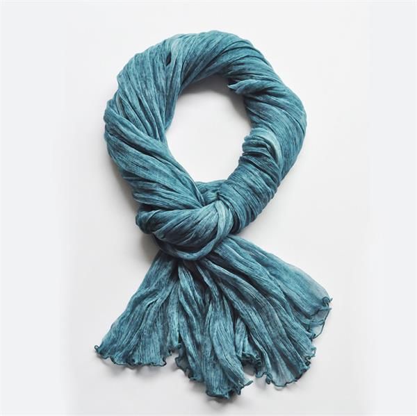 girls fashion silk georgette scarf (5)