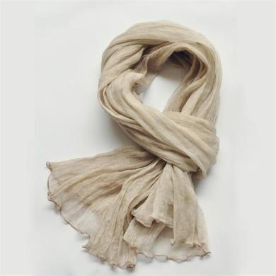 girls fashion silk georgette scarf (7)