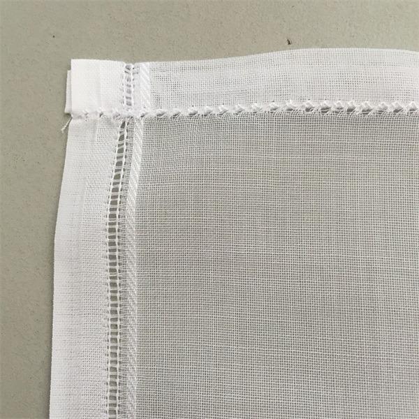 high twist polyester voile plain arab men's head scarves (5)