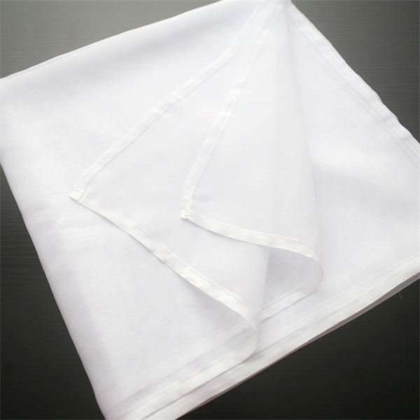 high twist polyester voile plain arab men's head scarves (6)